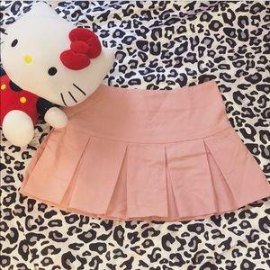 Y2K brat skirt 💛